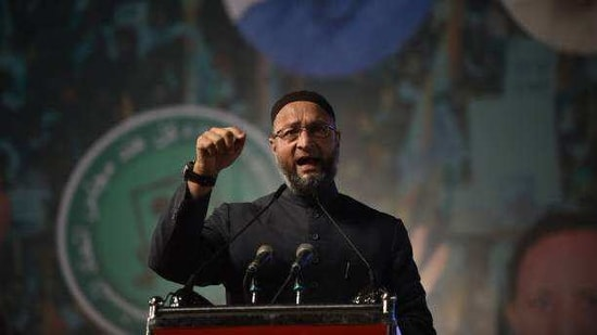 AIMIM supremo Asaduddin Owaisi, who after good performance in the 2020 Bihar assembly poll has announced that it will contest the Bengal election. (Stock Image: Getty)