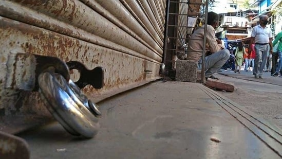 Around 40,000 trade associations have extended their support to the call for the bandh.(Ravindra Joshi/HT file photo)