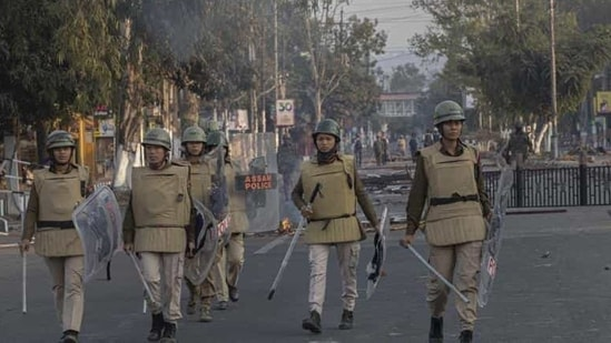 Govt officials familiar with the matter cited attacks on security forces in the northeast and recovery of large amounts of arms and ammunition from several parts of Assam as a reason for the move.(AP file photo)