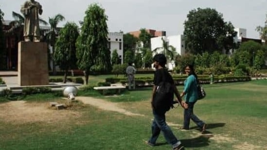 File photo of Jamia Millia Islamia University(Pradeep Gaur/Mint)