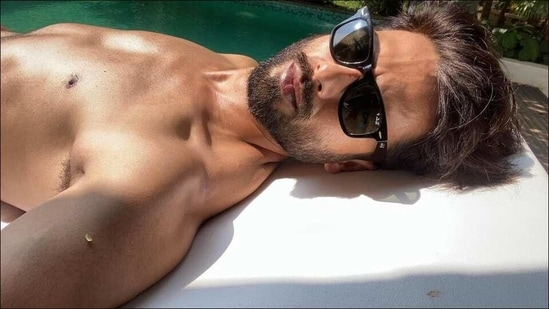Happy birthday Shahid Kapoor: 5 healthy lifestyle habits of vegan Kabir Singh(Instagram/shahidkapoor)