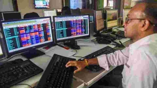 On the Sensex chart, barring HDFC and Asian Paints, all constituents were trading in the green.(PTI)