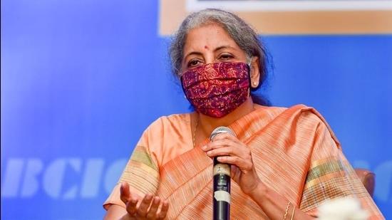 Union finance minister Nirmala Sitharaman. (File photo)