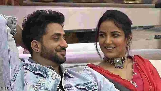 Aly Goni and Jasmin Bhasin in Bigg Boss 14.