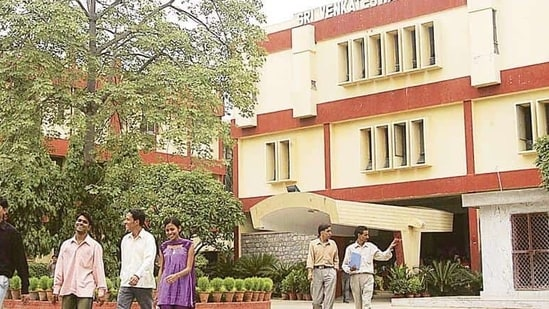 Officials at the Venkateswara College said they have not received any communication either from their management or the Andhra government yet.(HT file photo)