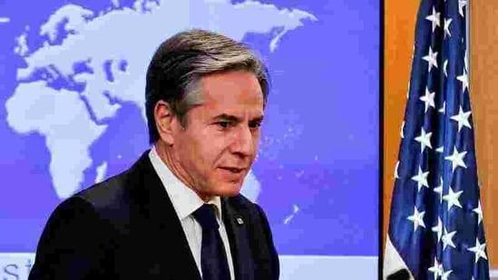 US Secretary of State Antony Blinken(Reuters)