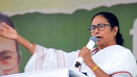 File photo: West Bengal chief minister Mamata Banerjee. (ANI Photo)