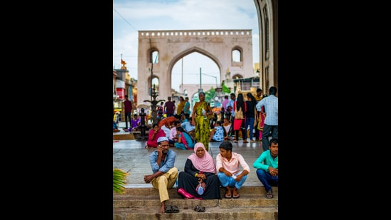 At the Charminar in Hyderabad, India. (Shutterstock)