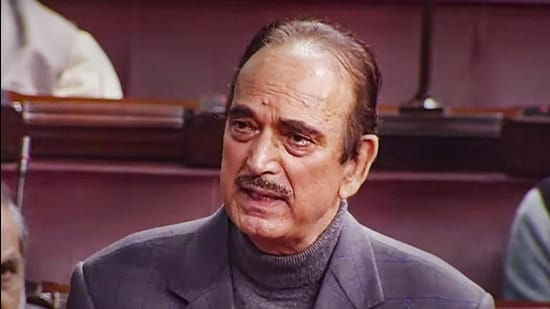 Ghulam Nabi Azad. (HT file)