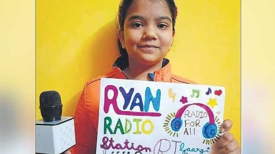 The students took part in the Coolest RJ contest that was conducted virtually.