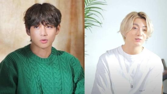 BTS singer V and Jungkook talk about their mixtapes.