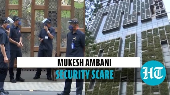 Security heightened after explosives found in vehicle near Mukesh Ambani's house