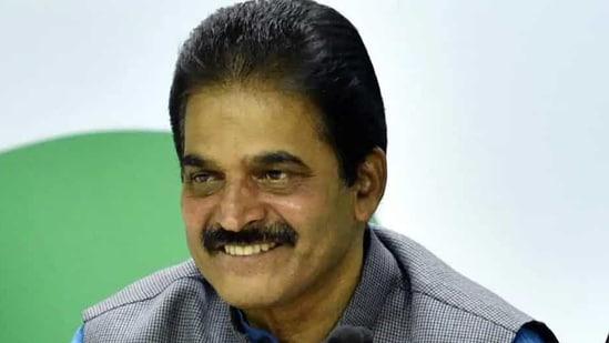 Congress leader KC Venugopal(Amal KS/HT PHOTO)