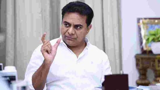 All India Congress Committee spokesperson Dasoju Sravan strongly objected to a statement issued by TRS working president K T Rama Rao on Thursday night, reeling out statistics to show the government had filled up over 1.32 lakh jobs in various departments in the last six years. (HT PHOTO).