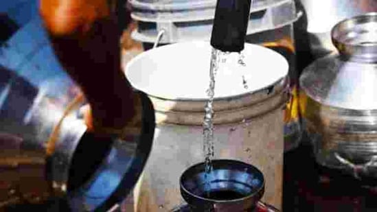 Testing of tap water was conducted to check Organoleptic and physical parameters and know the chemical and toxic substances and bacteriological quality besides virological and biological parameters.(Pramod Thakur/HT File Photo)