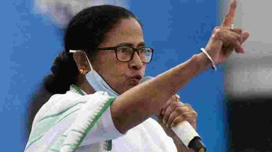 West Bengal chief minister Mamata Banerjee. (HT_PRINT)