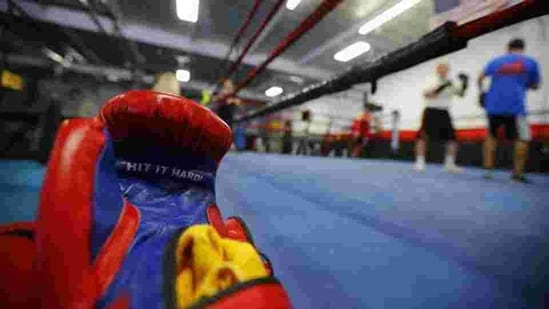 Image of boxing gloves.(REUTERS)