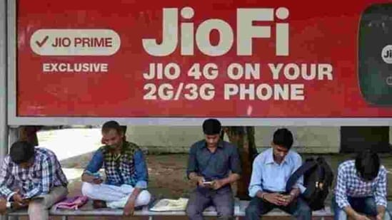 There is also another plan at <span class='webrupee'>₹</span>1,499 that offers a JioPhone device, unlimited voice calls and data (2GB high-speed data every month) for one year(Reuters File Photo)