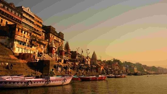 The ghats of Varanasi (Shutterstock)