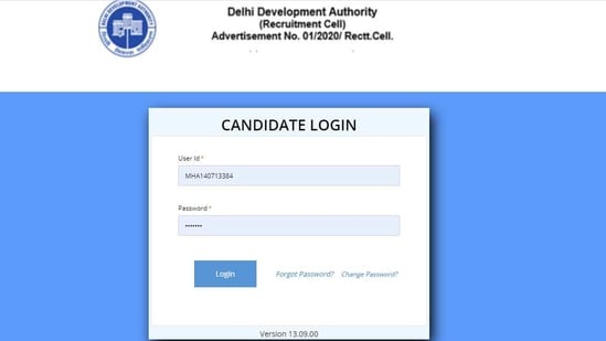 DDA Patwari Stage II admit card 2020.(Screengrab )