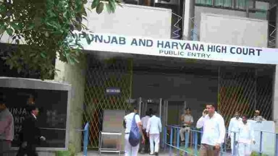 Punjab and Haryana High Court (HT FILE PHOTO)