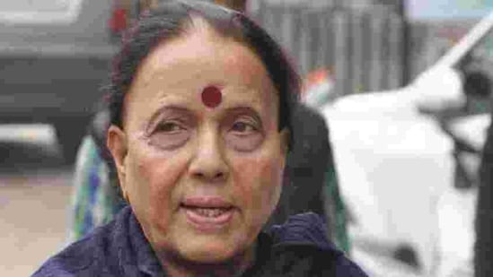 Congress's Indira Hridayesh, the leader of the opposition in Uttarkhand assembly alleged it is a dangerous trend that the government didn't take the opposition into confidence before taking such a crucial decision.(HT Photo)