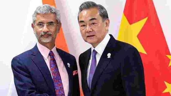 External Affairs Minister S Jaishankar and Chinese State Councilor and Foreign Minister Wang Yi met for nearly two hours on the sidelines of the SCO meet in Russia last year. (PTI)