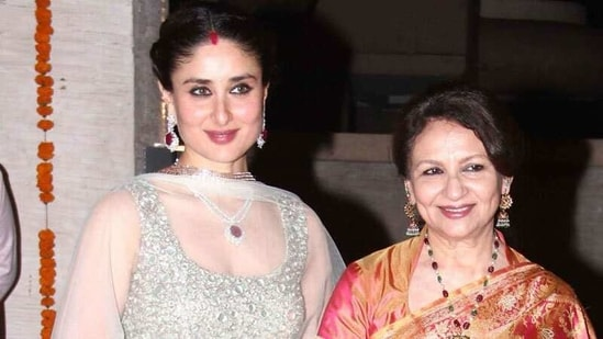 When Sharmila Tagore said Kareena Kapoor was 'just like my children' when  Mansoor Ali Khan was in hospital | Hindustan Times