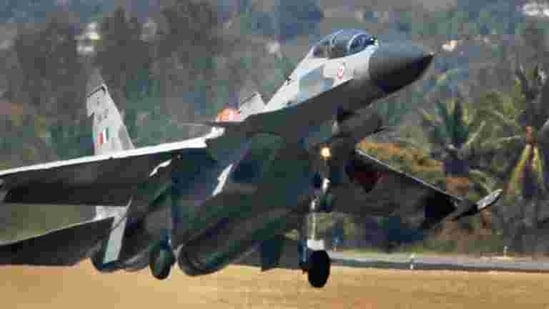 Indian Air Force's Sukhoi 30 plane (PTI).