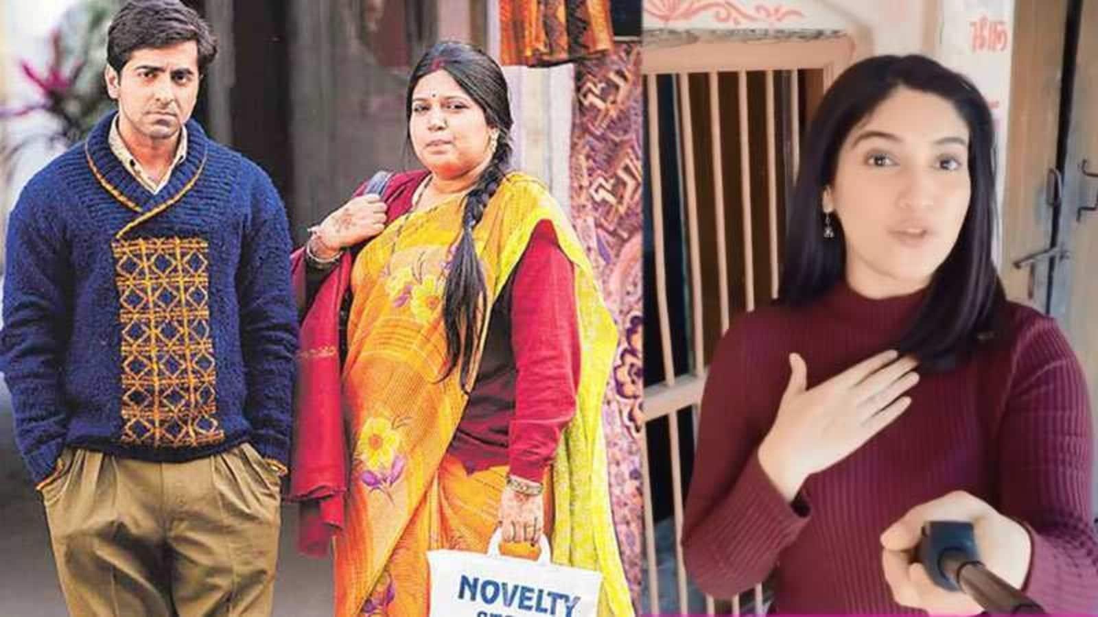 Bhumi Pednekar visits Dum Laga Ke Haisha house in Haridwar, Ayushmann Khurrana calls the film 'voice of my beliefs' - Hindustan Times