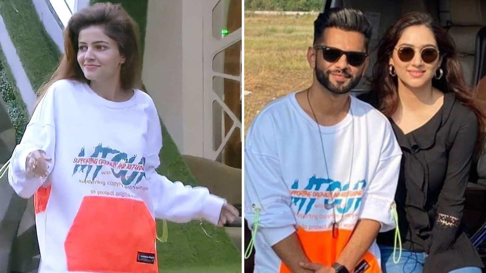 Bigg Boss 14: Rahul Vaidya takes fashion inspiration from Rubina Dilaik, Twitter asks 'udhaar li hai ya churaai hai?' - Hindustan Times