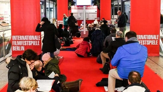 The organisers of the Berlinale, or Berlin Film Festival, now in its 71st year, have always prided themselves on running screenings that are open to an enthusiastic public, unlike Venice and Cannes, its main rivals in the festival calendar.(Instagram)