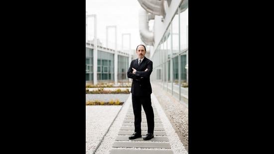 Ricardo Sciutto, CEO of Italian footwear brand Sergio Rossi