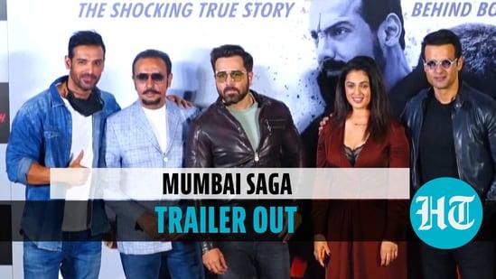 Mumbai Saga trailer out: John Abraham, Emraan Hashmi, others attend launch