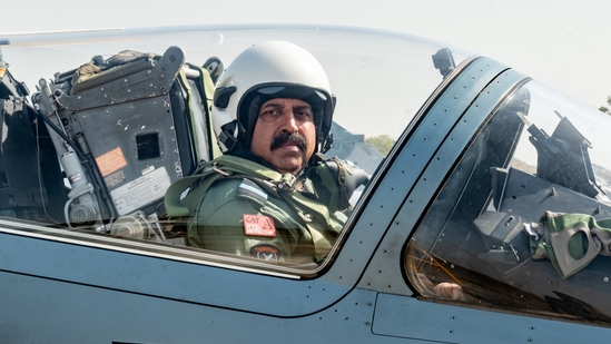 Air Chief Marshal RKS Bhadauria flew a Mirage 2000, the aircraft that was used for bombing Jaish-e-Mohammed (JeM) targets in Pakistan's Balakot on February 26, 2019. (ANI PHOTO).