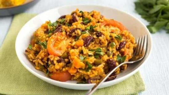 Jambalaya(Easy Cheesy Vegetarian)