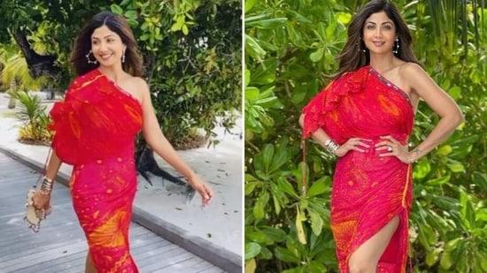 Shilpa Shetty in the Maldives(Instagram/theshilpashetty)