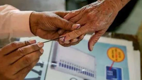 The first phase of voting for the three-phased elections to the decentralised tiers of local bodies at the village, block and district levels in Kerala will be conducted by the Kerala State Election Commission on Tuesday.(PTI/ File photo)