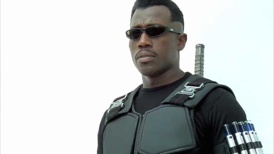 Wesley Snipes played Blade in three films.