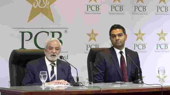 Pakistan Cricket Board's managing director Wasim Khan.. File(AP)