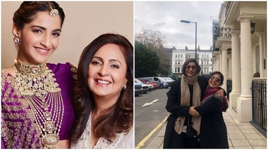 Sonam Kapoor and her mother-in-law Priya Ahuja share a sweet bond.