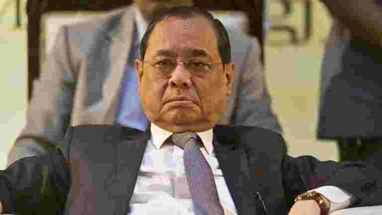 """Justice Gogoi, during the event telecast on February 12, used the term """"ramshackle"""" for the judiciary and added that one would be ending up only """"washing dirty linen in court"""" by filing defamation cases.(AP file photo)"""