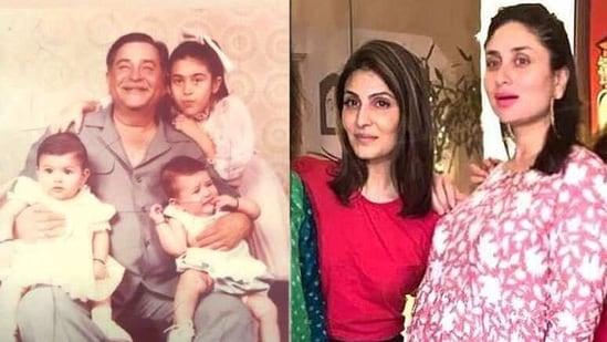 Kareena Kapoor and Riddhima Kapoor were both born in September in the same year and were named by grandfather Raj Kapoor.