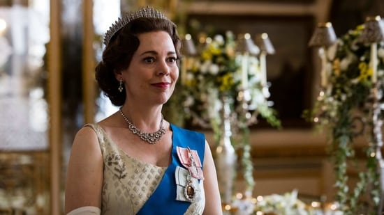 Olivia Coleman is nominated for The Crown.