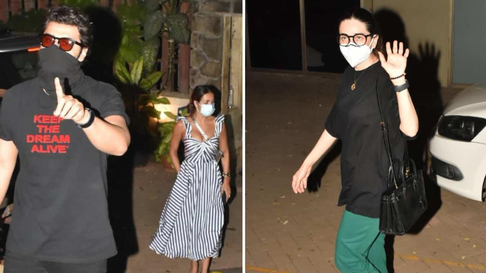 Arjun Kapoor-Malaika Arora and Karisma Kapoor visit Saif Ali Khan and Kareena Kapoor's newborn. See photos - Hindustan Times
