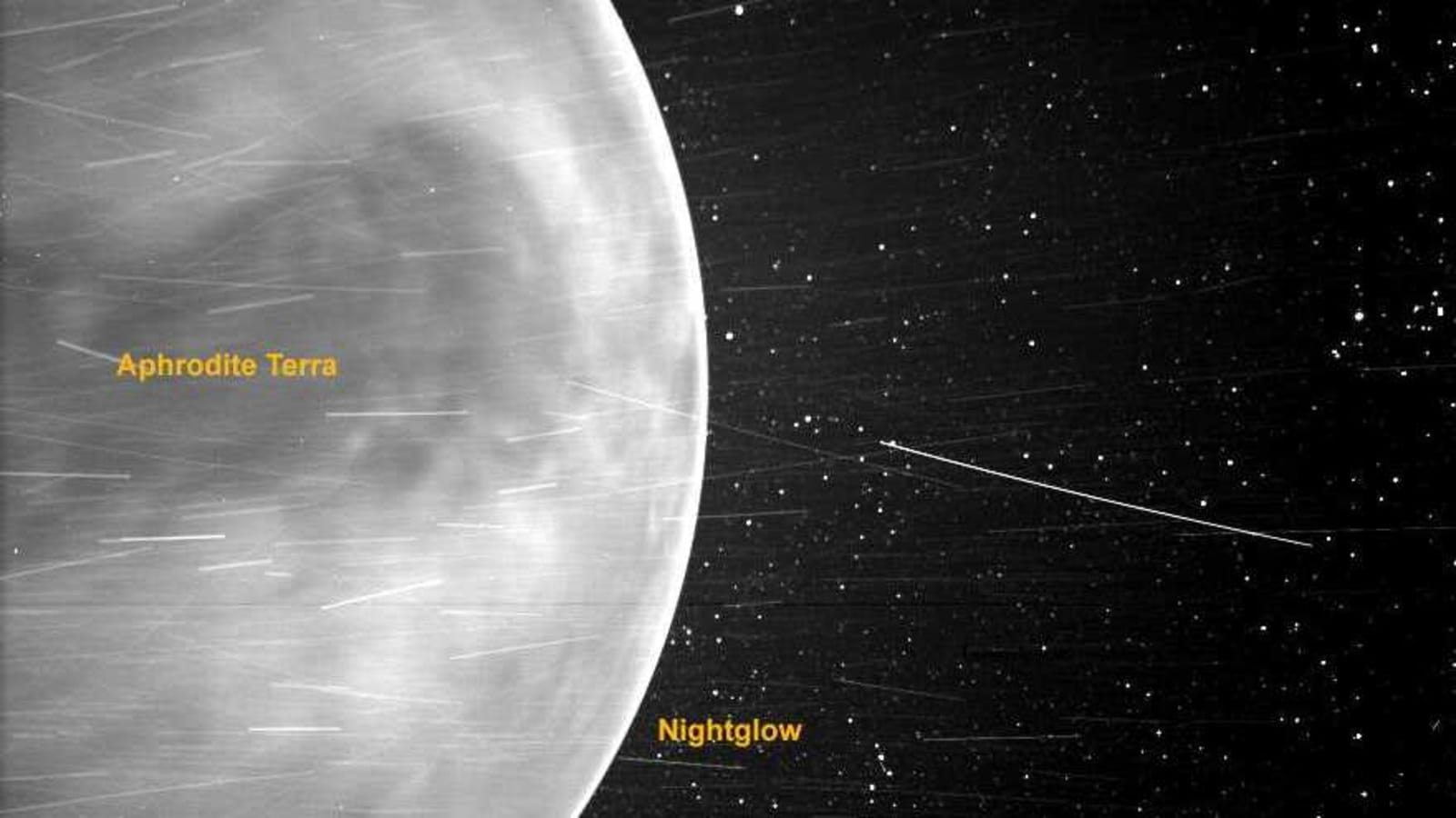 Nasa's solar probe sends stunning image of Venus and its terrain - Hindustan Times
