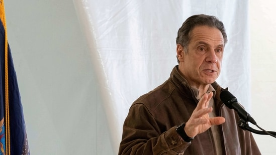 New York Gov. Andrew Cuomo speaks to reporters (Reuters File Photo).