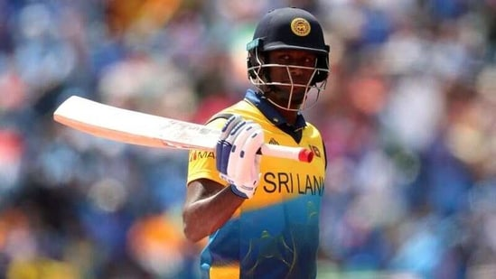 Cricket - ICC Cricket World Cup - Sri Lanka v India - Headingley, Leeds, Britain - July 6, 2019 Sri Lanka's Angelo Mathews reacts after losing his wicket Action Images via Reuters/Lee Smith(Action Images via Reuters)