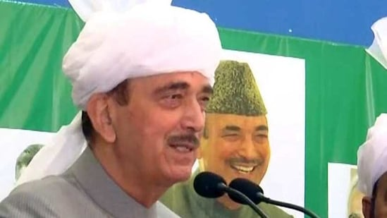 Ghulam Nabi Azad served as the chief minister of Jammu and Kashmir between 2005 and 2008,(ANI)
