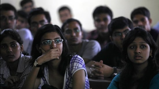 The first seat allocation list for five and three-year law courses was released in the third week of February (photo for representational purpose only). (HT FILE)